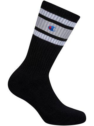 CREW SOCKS CHAMPION PREMIUM UNISEX - 1 pár prémiových sportovních ponožek Champion - černá
