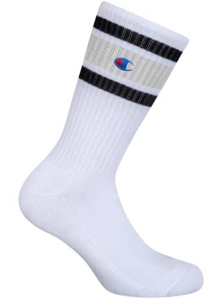 CREW SOCKS CHAMPION PREMIUM UNISEX - 1 pár prémiových sportovních ponožek Champion - bílá