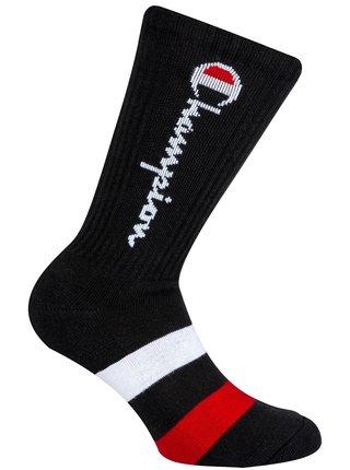 CREW SOCKS ROCHESTER AUTHENTIC - 1 pár Champion vyšších sportovních ponožek - černá - červená - modrá