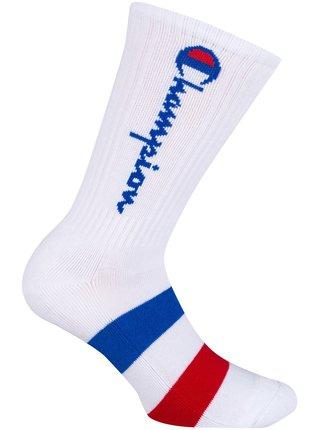 CREW SOCKS ROCHESTER AUTHENTIC - 1 pár Champion vyšších sportovních ponožek - bílá - červená - modrá
