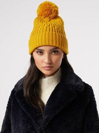Čiapky, čelenky, klobúky pre ženy Dorothy Perkins - žltá