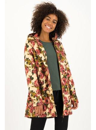 Blutsgeschwister květovaná softshellová parka Wild Weather Long Anorak Rose Tapestry