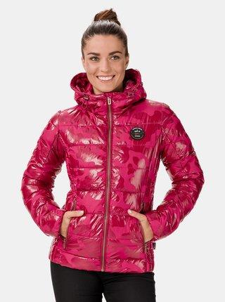 Růžová dámská prošívaná bunda SAM 73