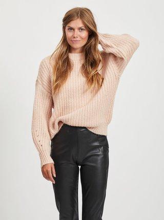 Růžový svetr VILA