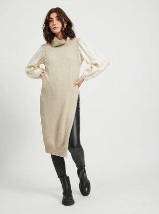 Pulovere pentru femei VILA - bej