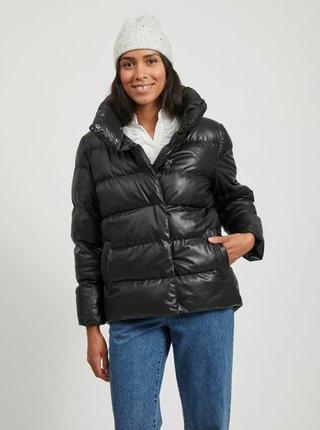 Černá zimní prošívaná bunda VILA