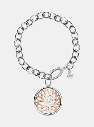 Náramek ve stříbrné barvě s přívěskem Morellato