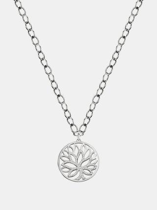 Řetízek ve stříbrné barvě s přívěskem a krystaly Morellato