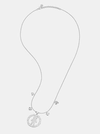 Řetízek ve stříbrné barvě s přívěsky Morellato