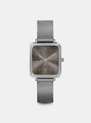 Dámské hodinky s nerezovým páskem ve stříbrné barvě Millner Royal