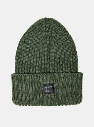 Zelená čiapka ONLY & SONS