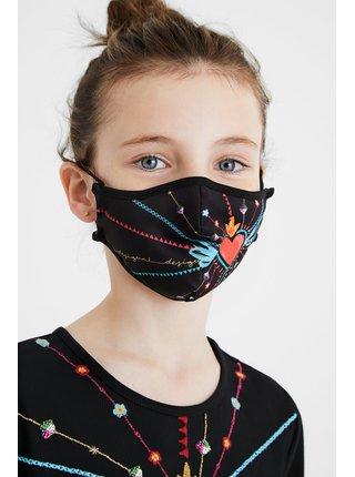 Desigual oboustranná dětská rouška Mask Kids Inmyheart