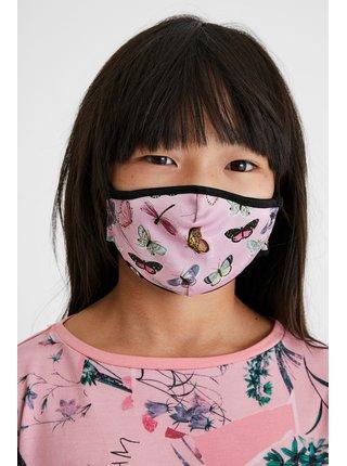 Desigual oboustranná dětská rouška Mask Kids Mariposa