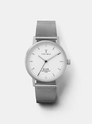 Dámske hodinky s kovovým remienkom v striebornej farbe TRIWA