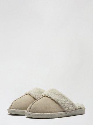 Béžové pantofle Dorothy Perkins