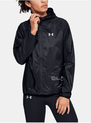 Černá bunda Under Armour Qlifier Storm Packable Jacket