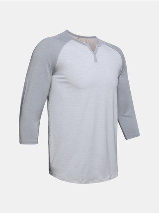 Šedé pyžamo Under Armour UA Recover Sleepwear Henley