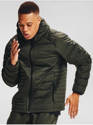 Khaki bunda Under Armour Stretch Down Jkt