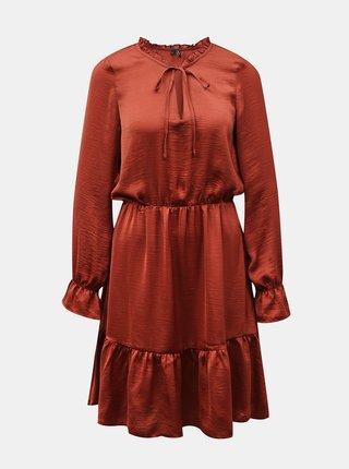 Šaty na denné nosenie pre ženy VERO MODA - hnedá