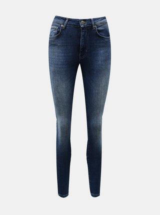 Modré skinny fit džíny ONLY