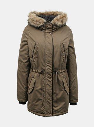 Zimné bundy pre ženy VERO MODA - hnedá