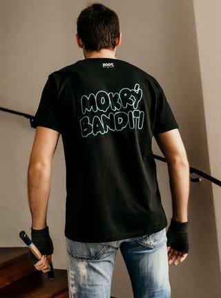 Čierne pánske tričko ZOOT Original Mokrí banditi