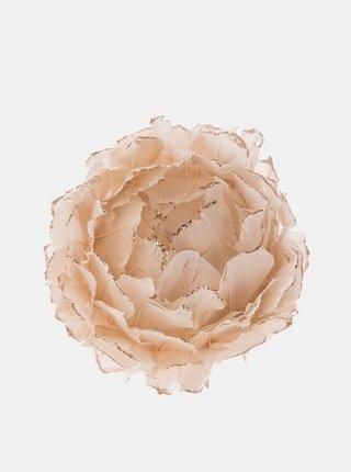 Béžová závesná kvetina Dakls