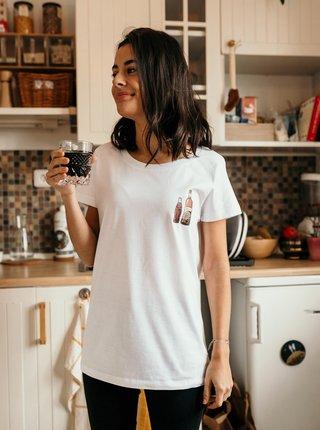 Biele dámske tričko ZOOT Original Dokonalý pár