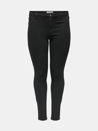 Černé skinny fit džíny ONLY CARMAKOMA Floria