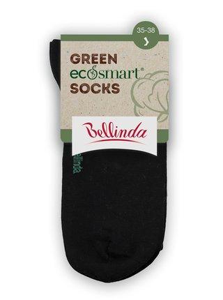 Dámské ponožky z bio bavlny - černá Bellinda GREEN ECOSMART