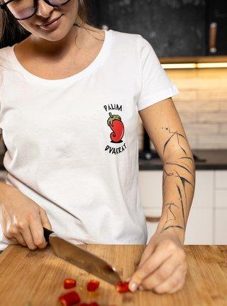 Biele dámske tričko ZOOT Original Chilli paprička