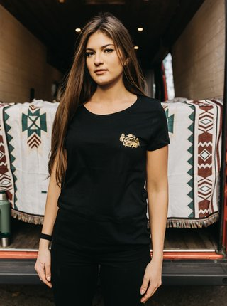 Čierne dámske tričko ZOOT Original Čas nehrá rolu