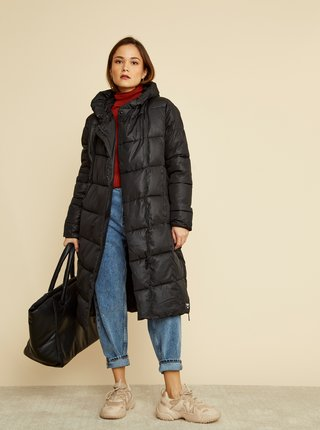 Čierny dámsky zimný prešívaný kabát ZOOT Gizela