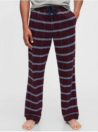 Červené pánské pyžamové kalhoty GAP