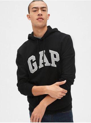 Černá pánská mikina GAP Hoodie Logo