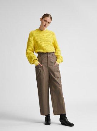 Žlutý svetr Selected Femme Sofii