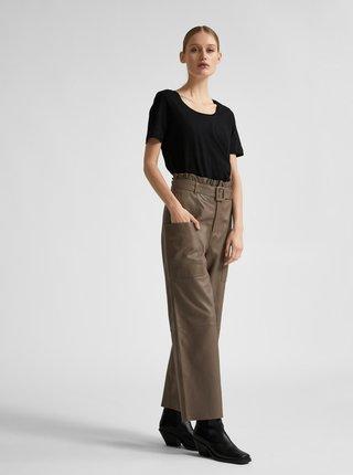 Tricouri pentru femei Selected Femme - negru