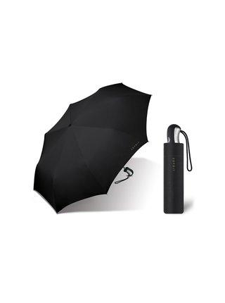 ESPRIT Black plně automatický skládací deštník - Černá