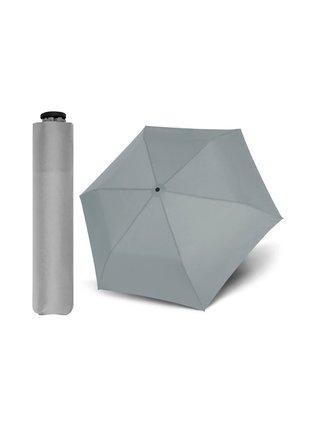 Doppler Zero99 šedý ultralehký skládací mini deštník - Šedá