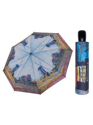 Doppler Art Větrné mlýny plně automatický skládací deštník - Vícebarevná
