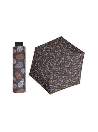 Doppler HAVANNA Joy hnědý ultralehký skládací deštník - Hnědá