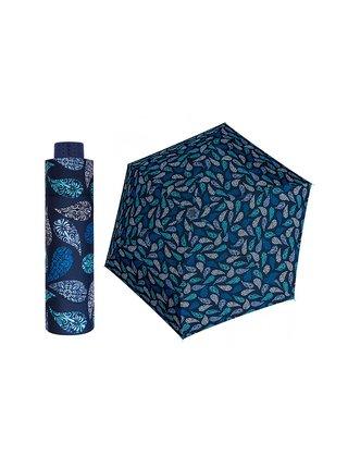 Doppler HAVANNA Joy modrý ultralehký skládací deštník - Modrá