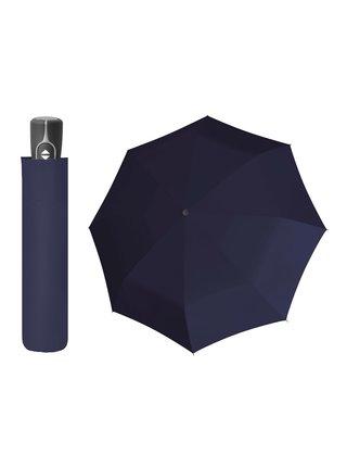 Doppler Magic Fiber modrý plně automatický deštník - Modrá