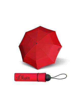 s.Oliver Fruit Cocktail červený skládací deštník - Červená
