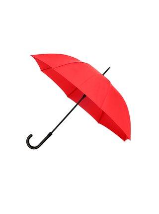 IMPLIVA Falcone® De luxe Red dámský holový deštník - Červená