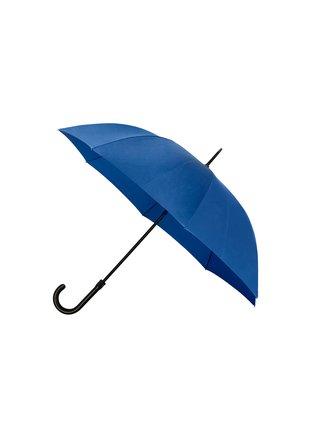 IMPLIVA Falcone® De luxe Blue jednobarevný holový deštník - Modrá