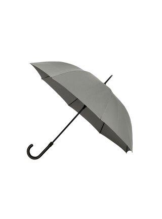 IMPLIVA Falcone® De luxe Grey jednobarevný holový deštník - Šedá