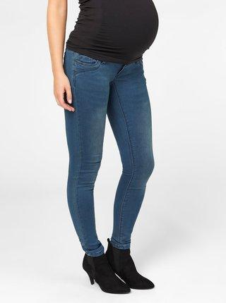 Modré těhotenské slim fit džíny Mama.licious Toronto