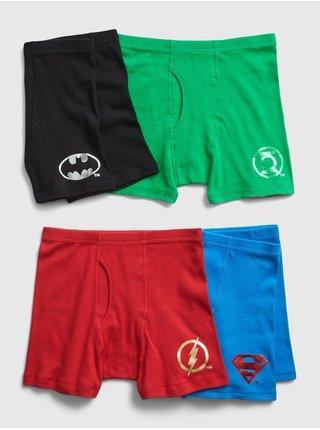Klučičí boxerky v červené, zelené, modré a černé barvě GAP