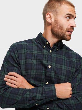 Modro-zelená košile Selected Homme